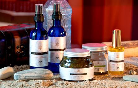 Flacons et pots - cosmétique bio - Les Odalines