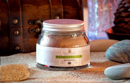 Pot argile verte / Ghassoul - cosmétique bio - Les Odalines