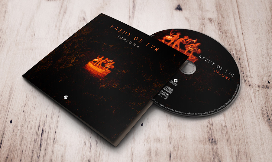 Pochette Digipak CD - Kazut de Tyr - album Jorjuna